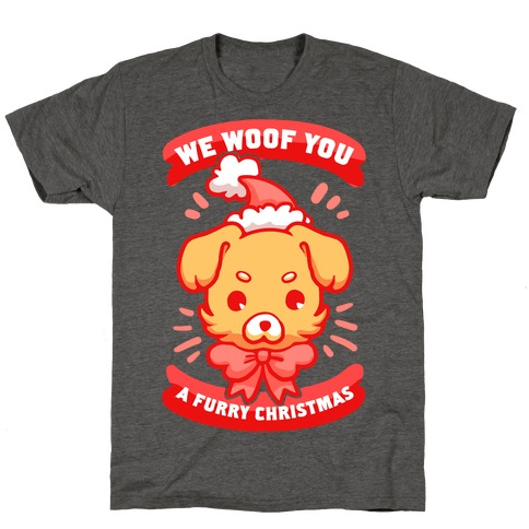 We Woof You A Furry Christmas T-Shirt