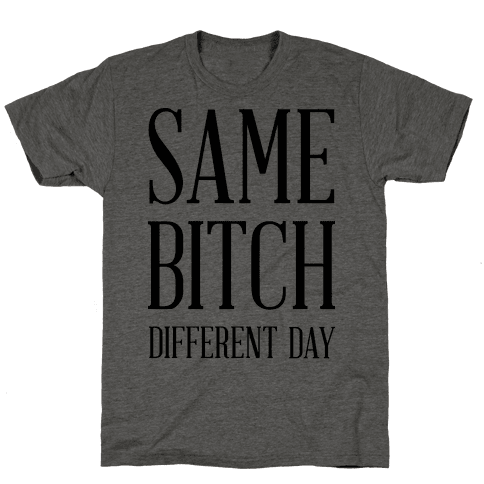 Same Bitch Different Day