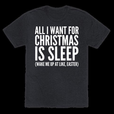 All I Want For Christmas Is Sleep