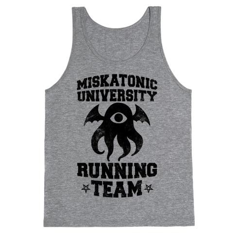 Miskatonic University Running Team Tank Top