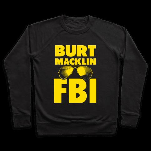 Burt Macklin FBI Pullover