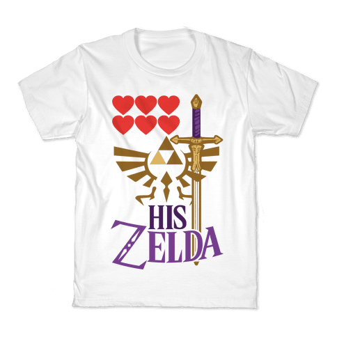 His Zelda (Part 1) Kids T-Shirt