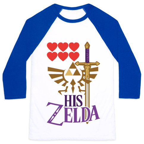 His Zelda (Part 1) Baseball Tee