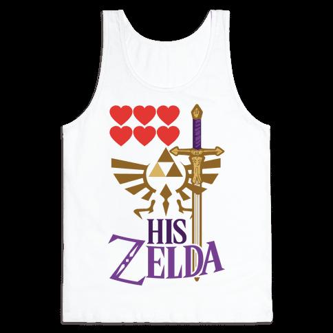 His Zelda (Part 1) Tank Top