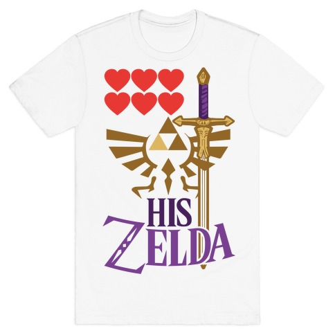 His Zelda (Part 1) Mens T-Shirt