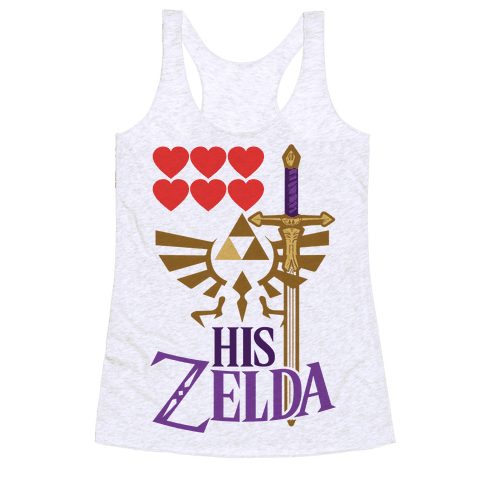 His Zelda (Part 1) Racerback Tank Top