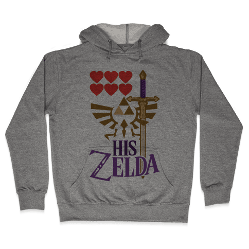 His Zelda (Part 1) Hooded Sweatshirt