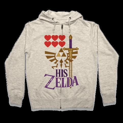 His Zelda (Part 1) Zip Hoodie