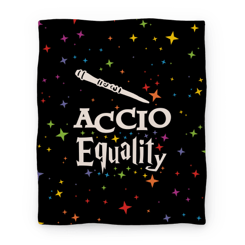 Accio Equality! Blanket
