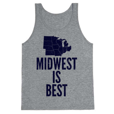 Midwest Is Best Tank Top