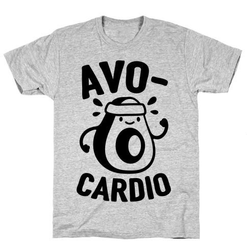 Avocardio Avocado Mens T-Shirt
