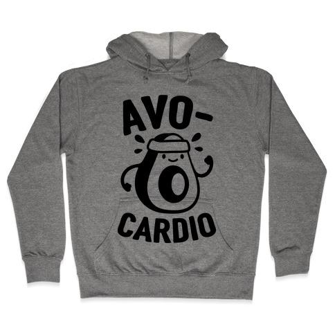 Avocardio Avocado Hooded Sweatshirt