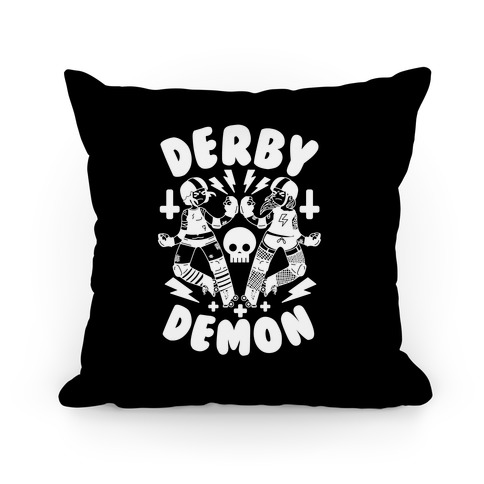 Derby Demon Pillow