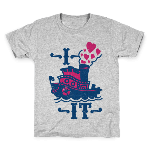 I Ship it Kids T-Shirt