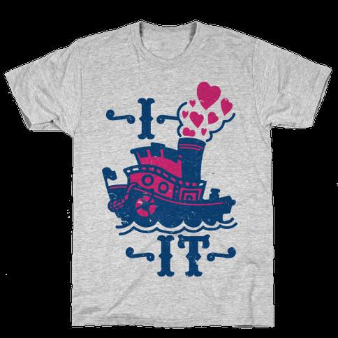 I Ship it Mens T-Shirt