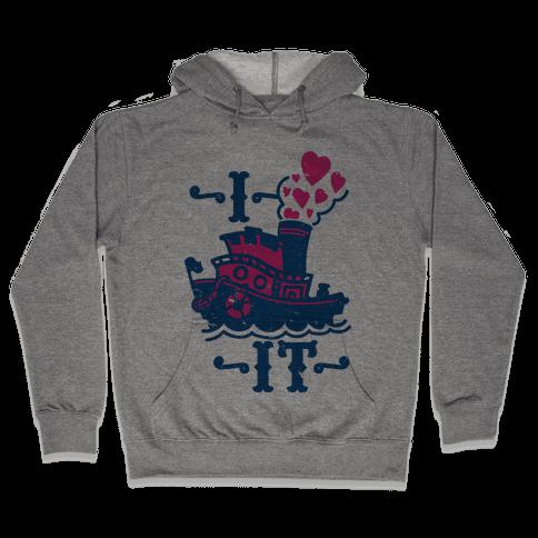 I Ship it Hooded Sweatshirt