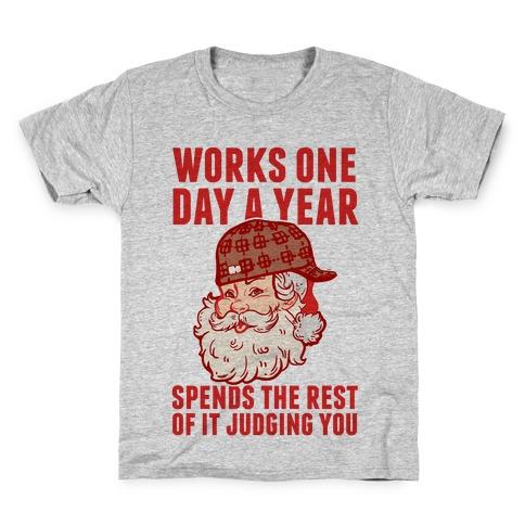 Scumbag Santa Kids T-Shirt