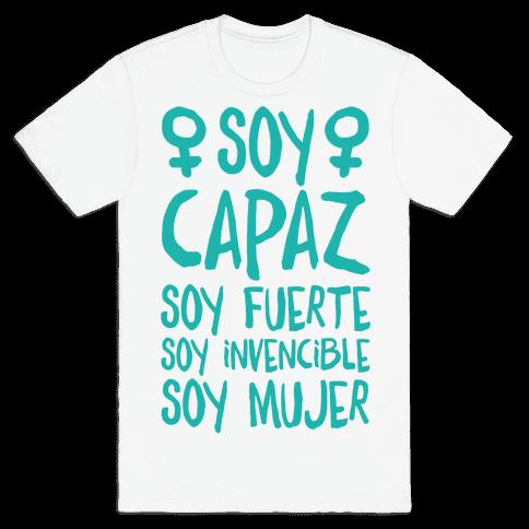 Soy Capaz Mens T-Shirt
