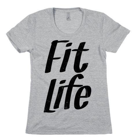 Fit Life Womens T-Shirt
