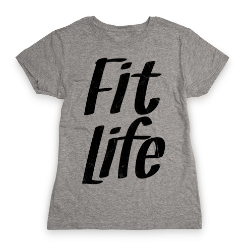 Fit Life Womens T-Shirt