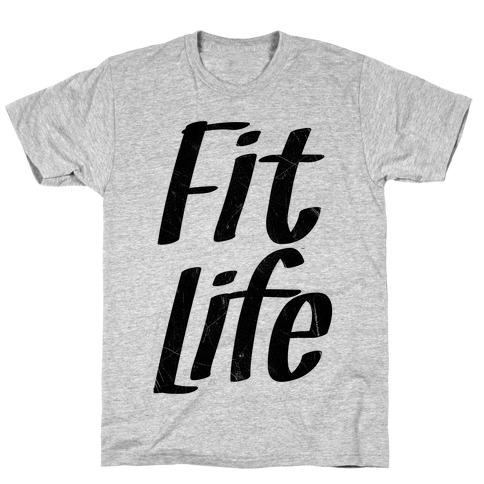 Fit Life Mens/Unisex T-Shirt