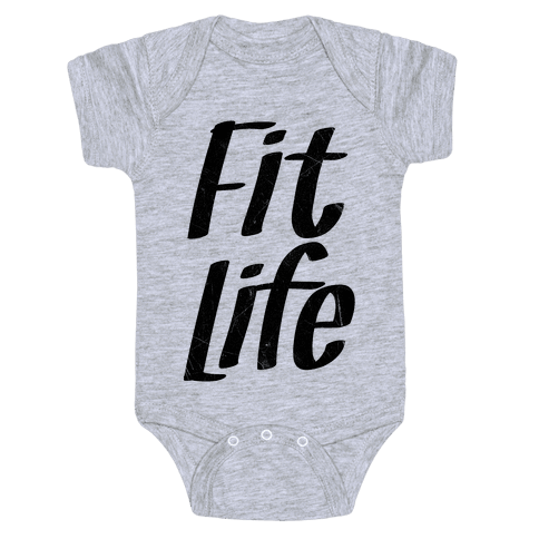 Fit Life Baby Onesy