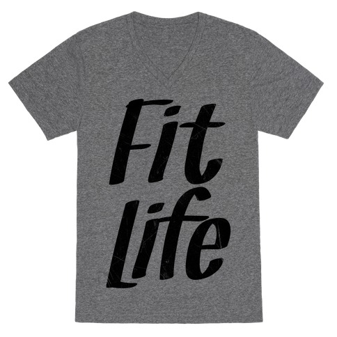 Fit Life V-Neck Tee Shirt
