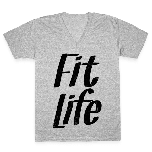 Fit Life V-Neck Tee Shirt