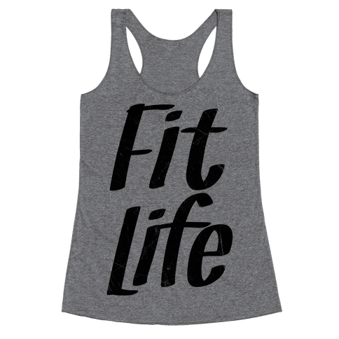 Fit Life Racerback Tank Top