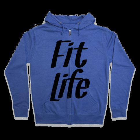 Fit Life Zip Hoodie