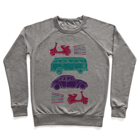 The 1960's Hippie Traveler Pullover