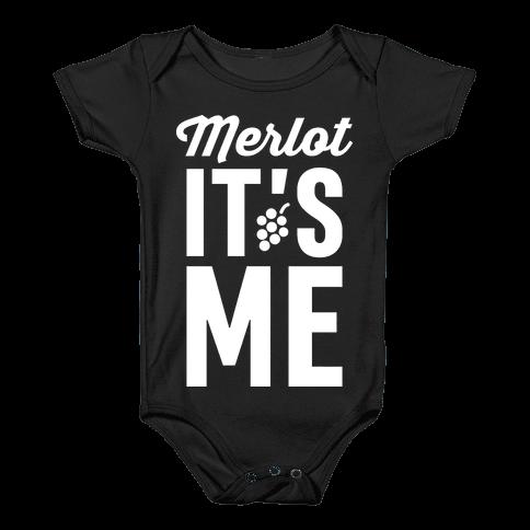 Merlot, It's Me Baby Onesy