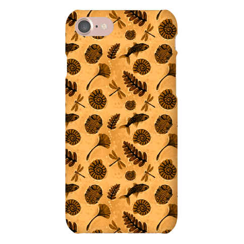 Small Fossil Pattern Phone Case