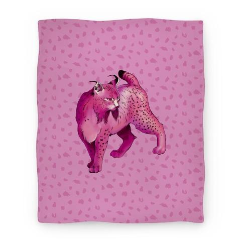 Wild Cat Lynx Blanket
