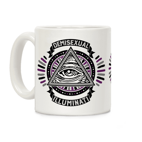 Demisexual Illuminati Coffee Mug