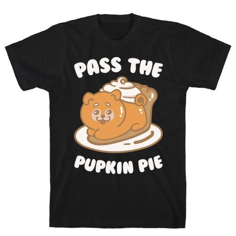 Pass The Pupkin Pie Mens T-Shirt