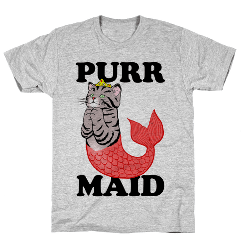 Purr Maid Mens T-Shirt
