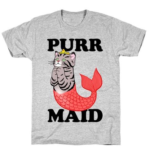 Purr Maid Mens/Unisex T-Shirt