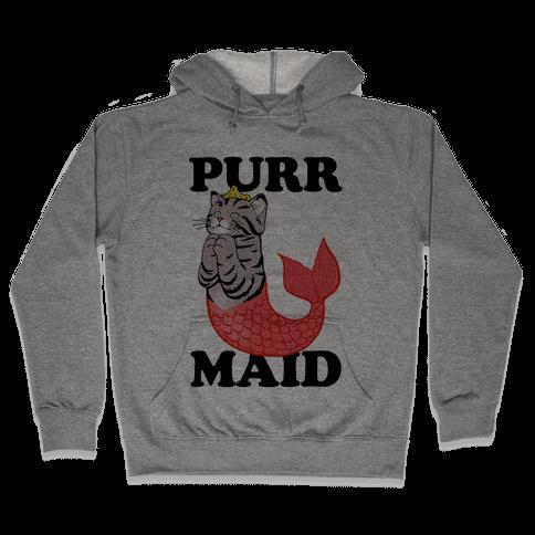 Purr Maid Hooded Sweatshirt