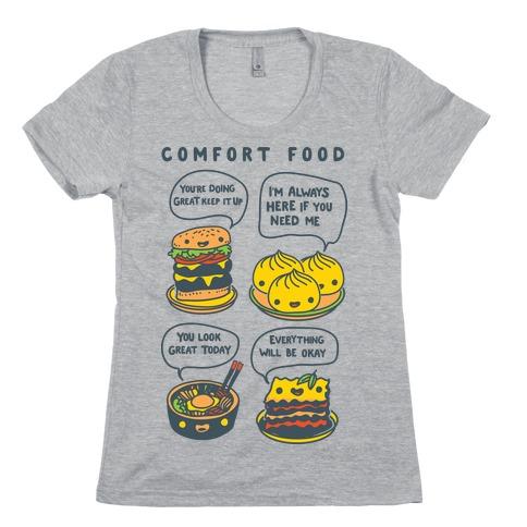 Comfort Food Womens T-Shirt