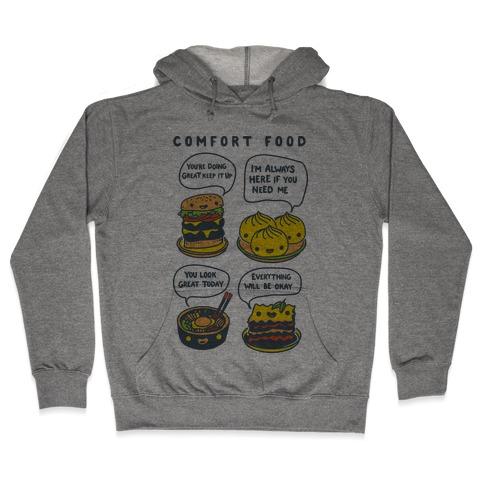 Comfort Food Hooded Sweatshirt
