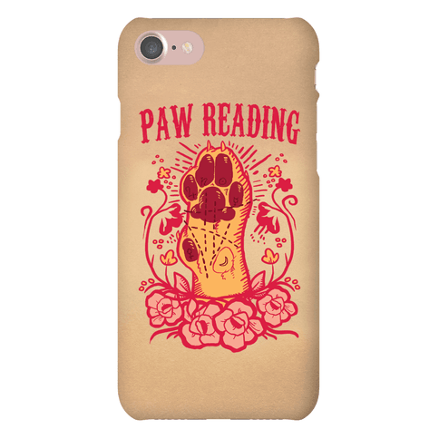 Paw Reading Phone Case