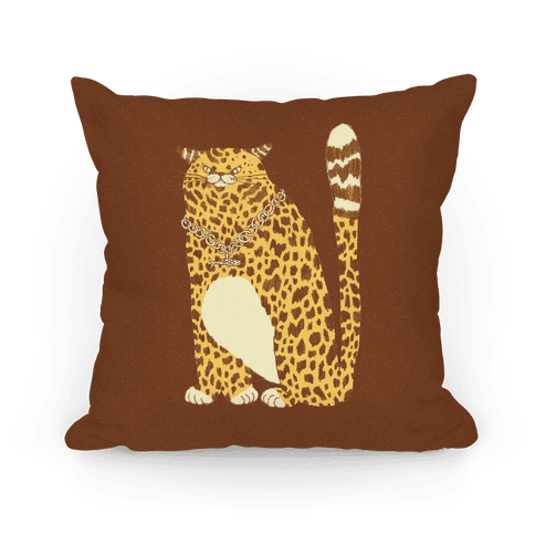 Big Chill Cat Pillow