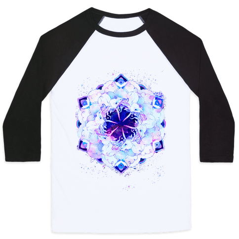 Unicorn Space Ring Baseball Tee