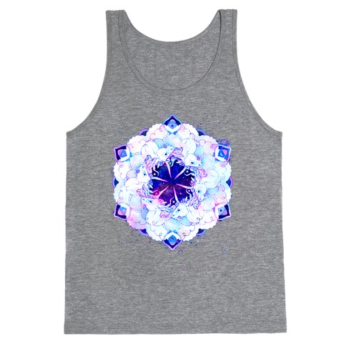 Unicorn Space Ring Tank Top
