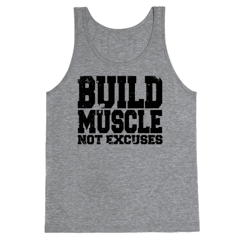 Build Muscle Tank Top