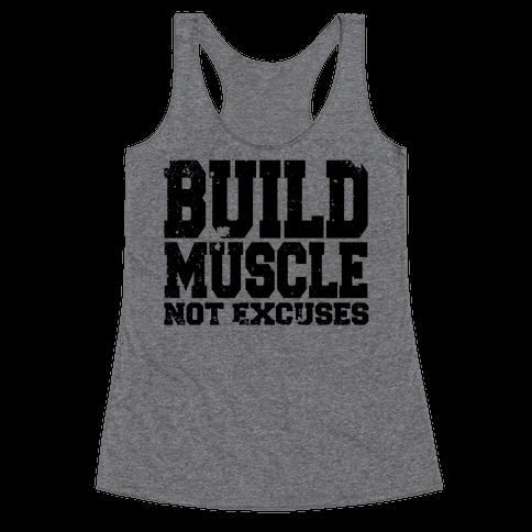 Build Muscle Racerback Tank Top