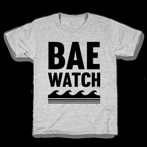 Bae Watch Kids T-Shirt