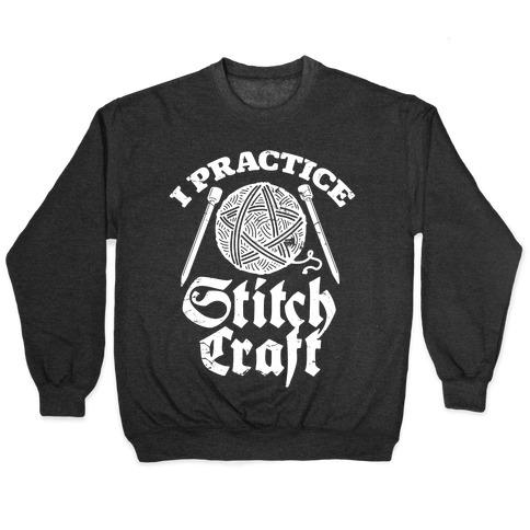 I Practice Stitchcraft Pullover