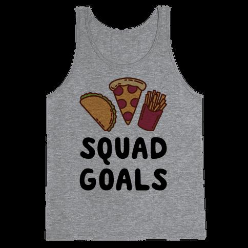 Junk Food Squad Goals Tank Top